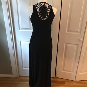 Cynthia rowley black maxi dress